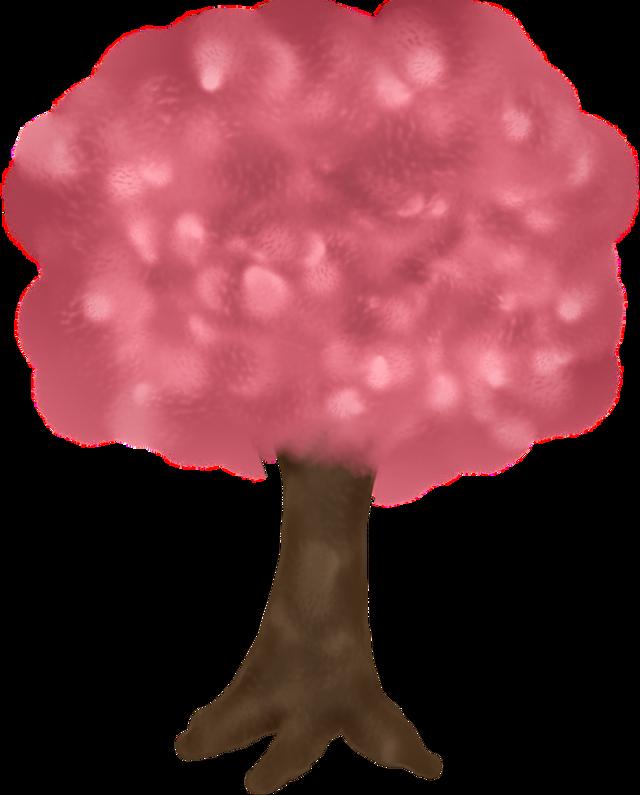 #freetoedit #pinkandbrown #tree