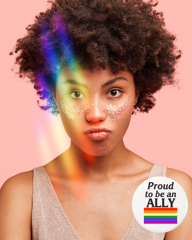 #freetoedit #proud #lgbt #lgbtq #pride #pridemonth #prism #prismmask #rainbow