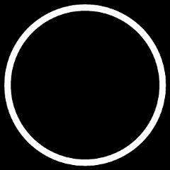 icon pfp profilepicture white whitecircle freetoedit