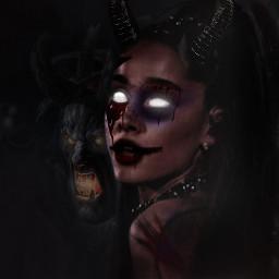 freetoedit remix demon arianagrande blood