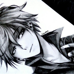 anime animeboy boy cool art