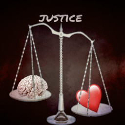 freetoedit justice brain heart weighing