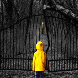 freetoedit it clown horror art scary