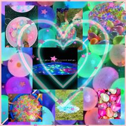 freetoedit balloons waterballoons hearts neon ccsummermoodboard summermoodboard