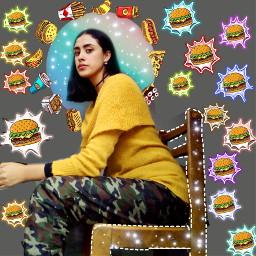 freetoedit comidarapida tattoo hamburguesa papasfritas🍟