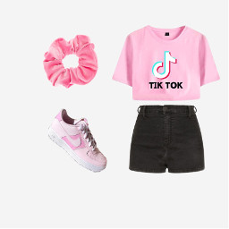pink outfit summeroutfit freetoedit
