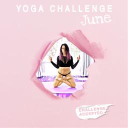 yogachallenge yoga pink