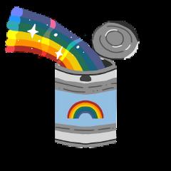 freetoedit rainbow rainbowcan rainbowflag can