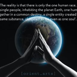 unity onehumanrace stopracism weareone mankind freetoedit
