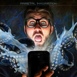 cellphone liveaction inyourface tentacles freetoedit scream