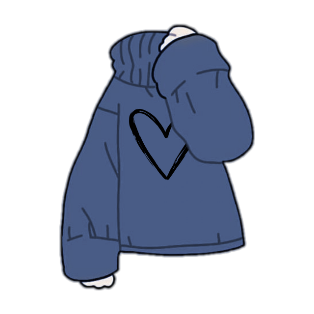 #freetoedit #gacha #gachalife #gachaclothes #hoodie #gachahoodie #cute #blue #heart #art #gachaedit