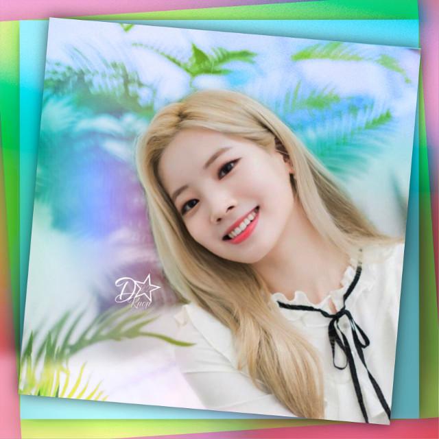 Twice- Dahyun #twice #dahyun #kpop #cute #pastel #girl  #freetoedit