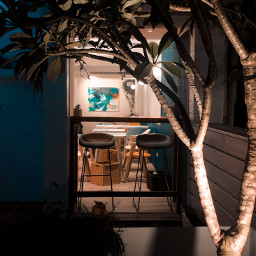 night restaurants dinner painting view freetoedit