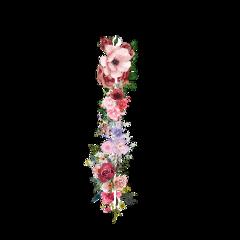 freetoedit line flowers линия цветы