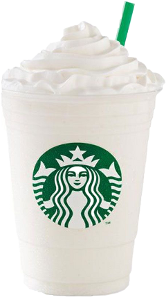 starbucks coffee frappe whipcream frappuccino freetoedit