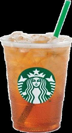 starbucks tea ice starbuckslover sweettea freetoedit