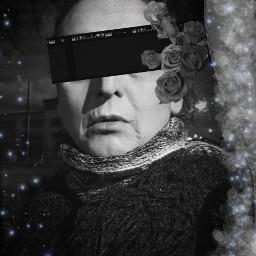 freetoedit i💜replays selfportrait blackandwhite i