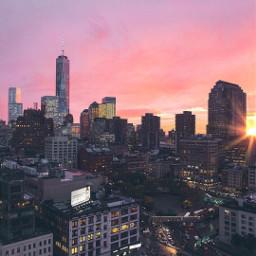 freetoedit закат рассвет красота город