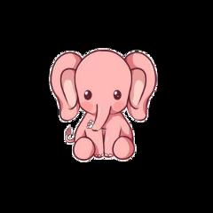 freetoedit слонёнок розовый слон розовыйслон