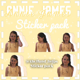 anniejames yellow stickerpack lindseylohan complxoverlay freetoedit