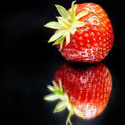 photography myphoto mypic strawberry red freetoedit