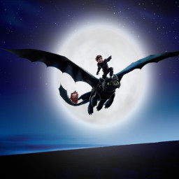 freetoedit howtotrainyourdragon toothless hiccup