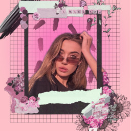 pink oliviaobrien harrystyles flower pastel freetoedit srccolorpalette colorpalette colorpallet