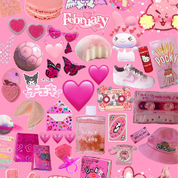 freetoedit pink pinktumblr pinkaesthetic bt21