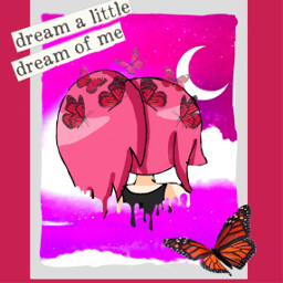 freetoedit gachalife fanart dream galaxybackgroud