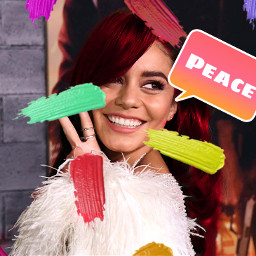 streaks vanessahudgens redhairgirl freetoedit srccolorpalette colorpalette colorpallet