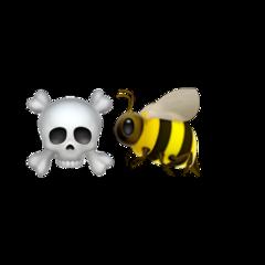 emojis bee popular-stickers woow weeklyhighlights freetoedit