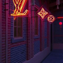 glitter sparkle louisvuitton alley dark