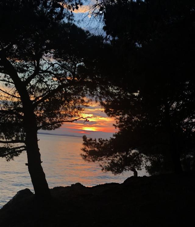#freetoedit#sunset#sea#myphotography#croatia#naturalbeauty#naturelover#pclandscape