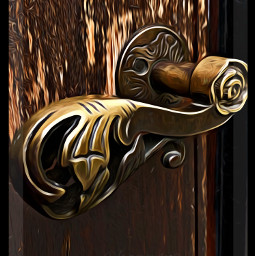 interesting doorknob doorhandle brass dailychallenge