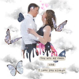 freetoedit couple goals love butterfly