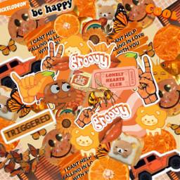 freetoedit complexedit orange orangecolor complexbackground