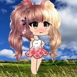 fancy summertime fun grasslands freetoedit