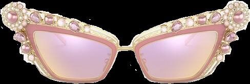 freetoedit sunglasses pink boujee barbie