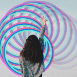 neon peace neoncircle circle fstickers freetoedit