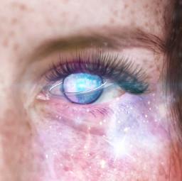 freetoedit planet eye glow sparkle rcgalaxyeye galaxyeye
