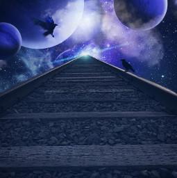 freetoedit journey wanderer space