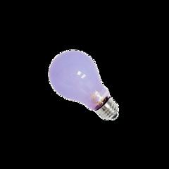 purple light bulb lightbulb png
