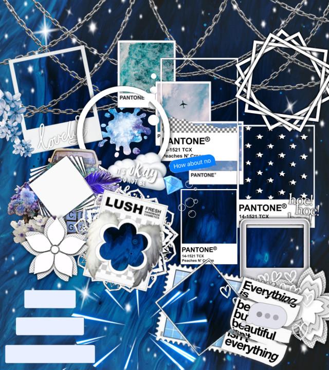 Pls use💙 . . . •••••••••••••••••••••••••••••••••   ☆ ℭ𝔬𝔩𝔬𝔲𝔯: blue   ☆𝔗𝔥𝔢𝔪𝔢: stars/complex ...  ☆𝕋𝕚𝕞𝕖: 7:33 pm  . . . •••••••••••••••••••••••••••••••••  ~tags: #blue #bluebackground #animebackground #edit #editbackground  #freetoedit