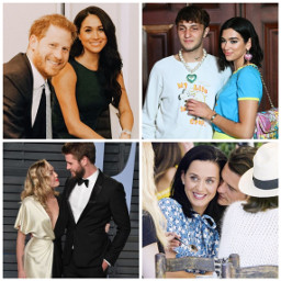celebrities princeharry meghanmarkle dualipa anwarhadid