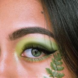 green remixthis freetoedit verde eye