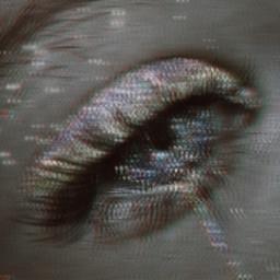 freetoedit eye trippy bwphotography glitch