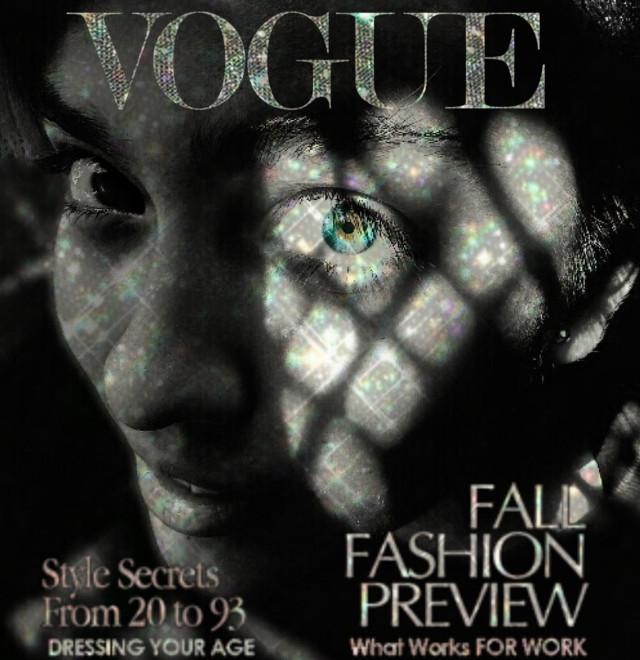 ♡ ᴠᴏɢᴜᴇ ᴄʜᴀʟʟᴇɴɢᴇ ♡ ᴀᴛᴛᴇᴍᴘᴛ ᴏɴᴇ ♡  #vogue #voguemagazine #face #glitter #eye #bwphoto #voguechinacoverchallenge