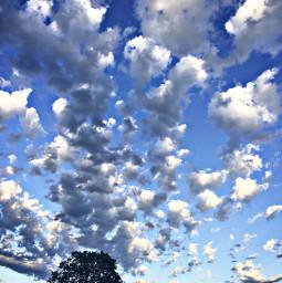 clouds sky minnesota summer june freetoedit