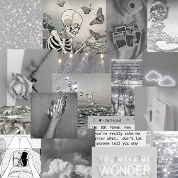 freetoedit gray mangapanel collage grayaesthetic