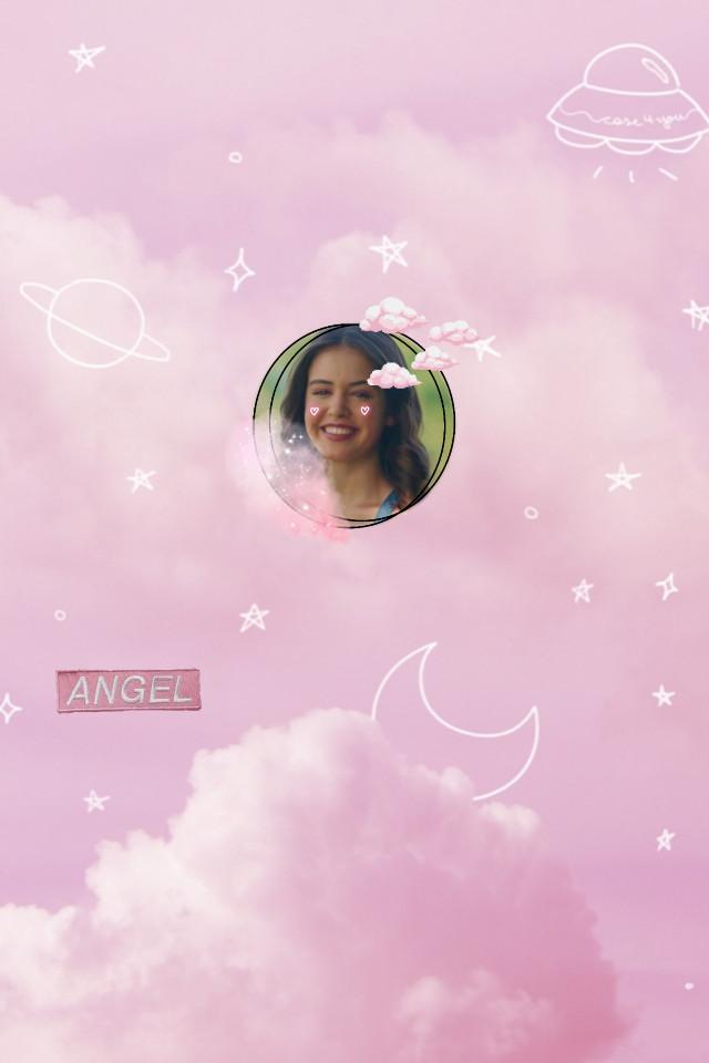 #freetoedit #josie #josiesaltzman #kaylee #kayleebryant #pink #sky #clouds #angel #cutie #cutegirl